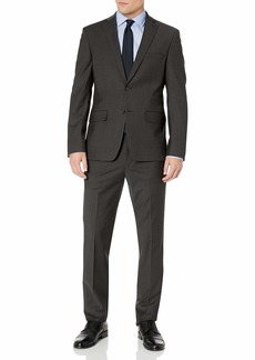 DKNY Men's Slim Fit Wool Suit