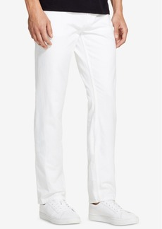 Dkny Men's Slim-Straight Fit White Jeans, Created for Macy's
