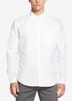 Dkny Men's Smooth Twill Relaxed-Fit Shirt, Created for Macy's