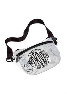 Dkny Metallic-Foil Logo Belt Bag