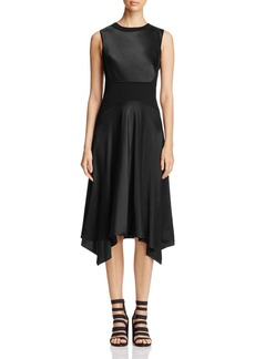 DKNY Mixed Media Handkerchief Dress - 100% Exclusive
