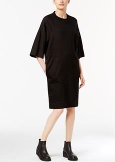 Dkny Mixed-Media T-Shirt Dress