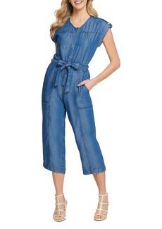 DKNY New York Button-Through Jumpsuit