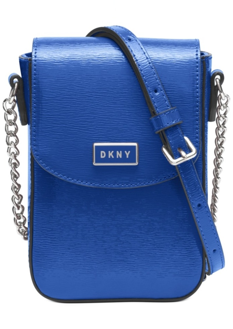 Dkny North South Leather Crossbody, Created for Macy's