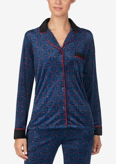 Dkny Notch-Collar Pajama Top