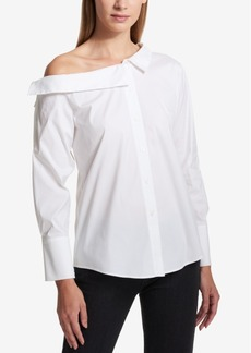 Dkny Off-the-Shoulder Blouse