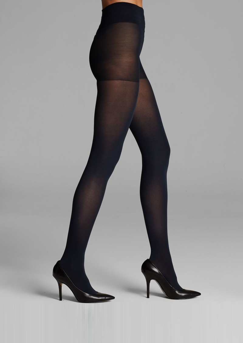 DKNY Opaque Coverage Control Top Tights