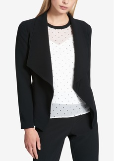 Dkny Open-Front Blazer, Created for Macy's