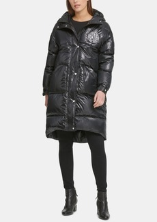 Dkny Oversized Hooded Puffer Coat