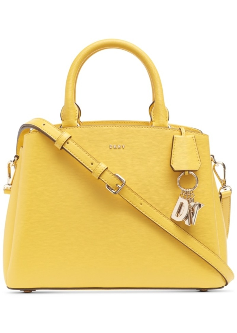Dkny Paige Medium Leather Satchel, Created For Macy's