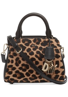 Dkny Paige Small Leopard Satchel, Created for Macy's
