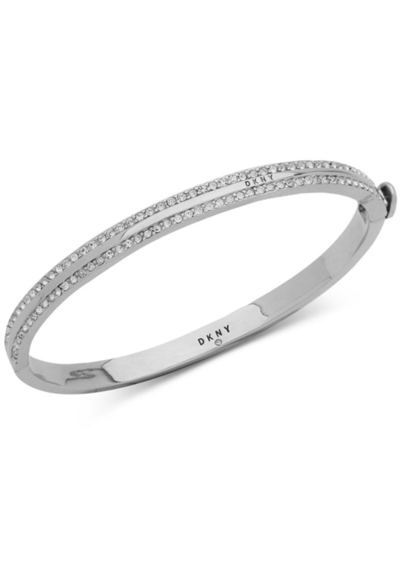 Dkny Pave Bangle Bracelet, Created for Macy's