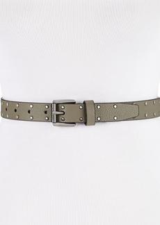 Dkny Pebble Studded Skinny Belt