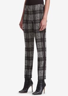 Dkny Plaid Skinny Pants, Created for Macy's