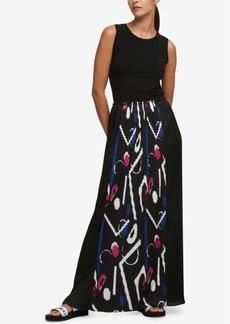Dkny Pleated Maxi Dress, Created for Macy's