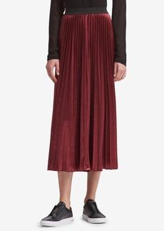 Dkny Pleated Maxi Skirt, Created for Macy's