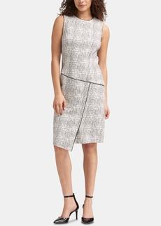 74ad87e354 DKNY Dkny Side-Tie Roll-Tab Shirtdress
