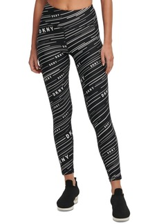 Dkny Printed High-Waist Leggings