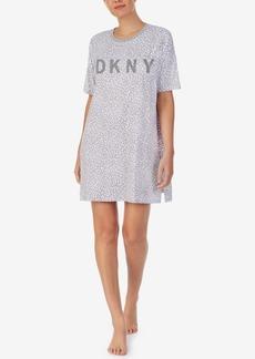 Dkny Printed Sleep Shirt Nightgown