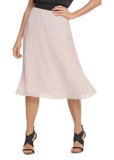 DKNY Pull-On Pleated Skirt