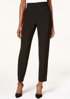 Dkny Pull-On Straight-Leg Pants