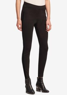 Dkny Pull-On Velvet-Trim Pants, Created for Macy's