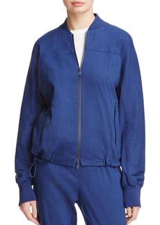 DKNY Pure Drawcord Hem Bomber Jacket