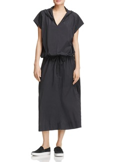 DKNY Pure Hooded Maxi Dress