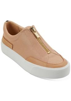 Dkny Ravyn Zipper Flatform Sneakers