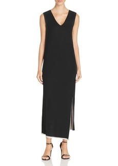 DKNY Reversible V-Neck Dress