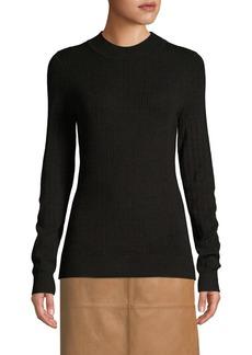 DKNY Donna Karan Ribbed Crew Sweater