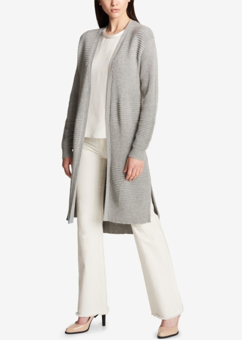 DKNY Dkny Ribbed Duster Cardigan | Sweaters - Shop It To Me
