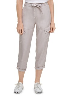 DKNY Roll Tab Cargo Pants