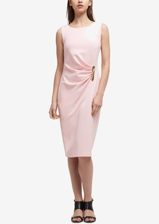 Dkny Ruched Sheath Dress, Created for Macy's