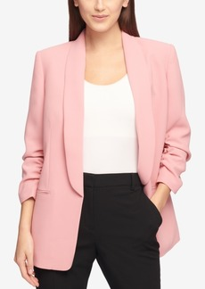 Dkny Ruched-Sleeve Blazer, Created for Macy's