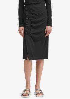 Dkny Ruffle-Trim Pencil Skirt, Created for Macy's
