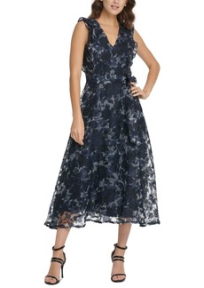 Dkny Ruffled Maxi Dress