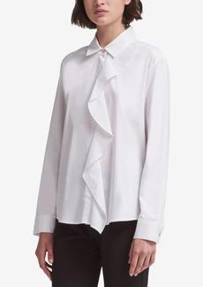 Dkny Ruffled Shirt, Created for Macy's