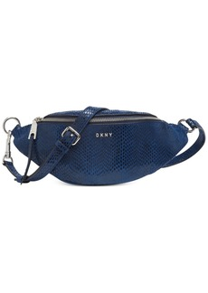 Dkny Sally Leather Belt Bag, Created for Macy's