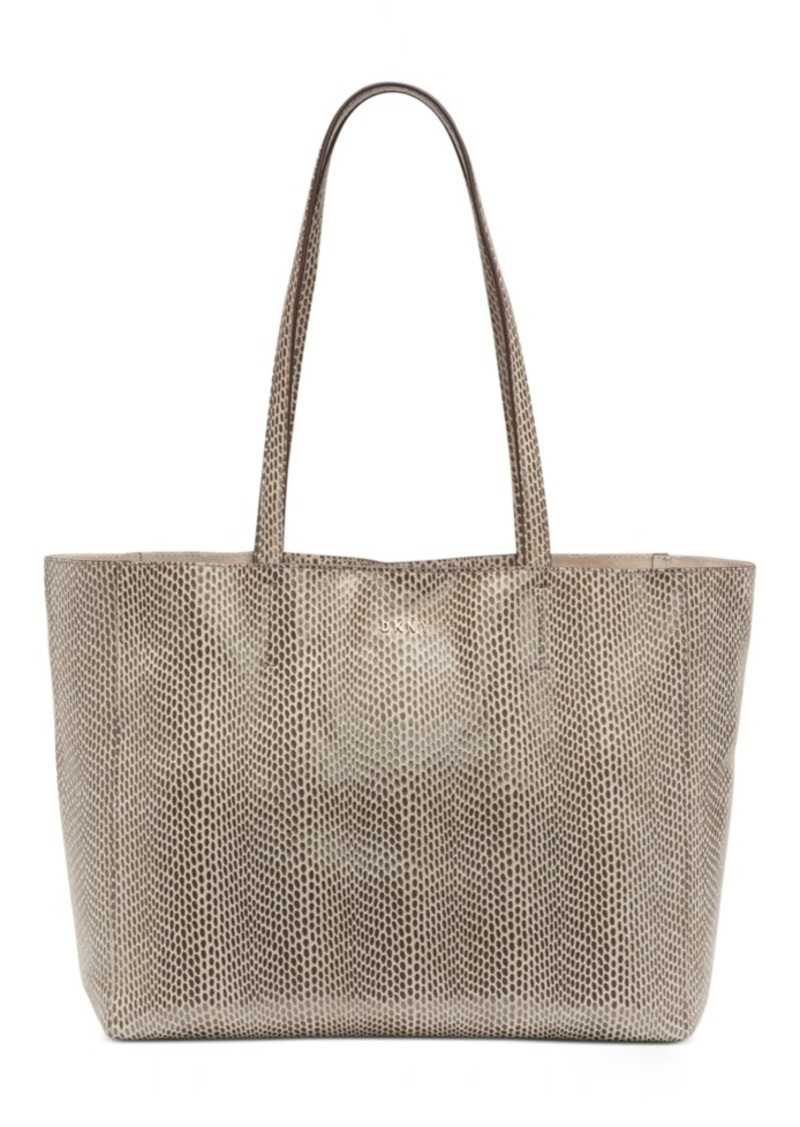 Dkny Sally Leather East-West Tote, Created For Macy's
