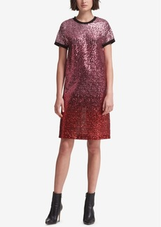 Dkny Sequin T-Shirt Dress, Created for Macy's