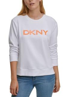 Dkny Sequined Logo Sweatshirt