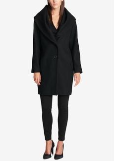 Dkny Shawl-Collar Walker Coat