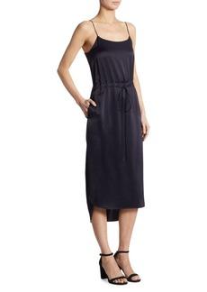 Shirttail Slip Dress
