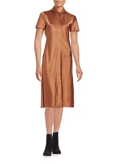DKNY Short-Sleeve Shirt Dress