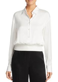 DKNY Silk Pullover Blouse