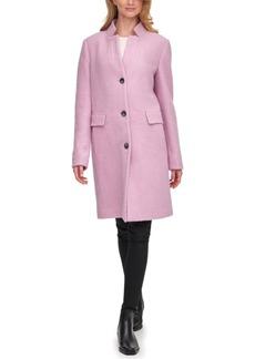 Dkny Single-Breasted Walker Coat, Created for Macy's