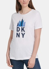 Dkny Skyline-Graphic T-Shirt