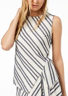 Dkny Sleeveless Asymmetrical Top, Created for Macy's