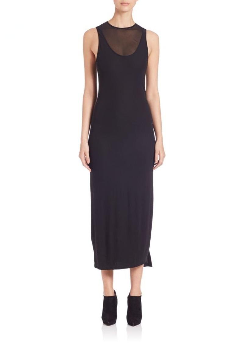 DKNY Sleeveless Black Dress